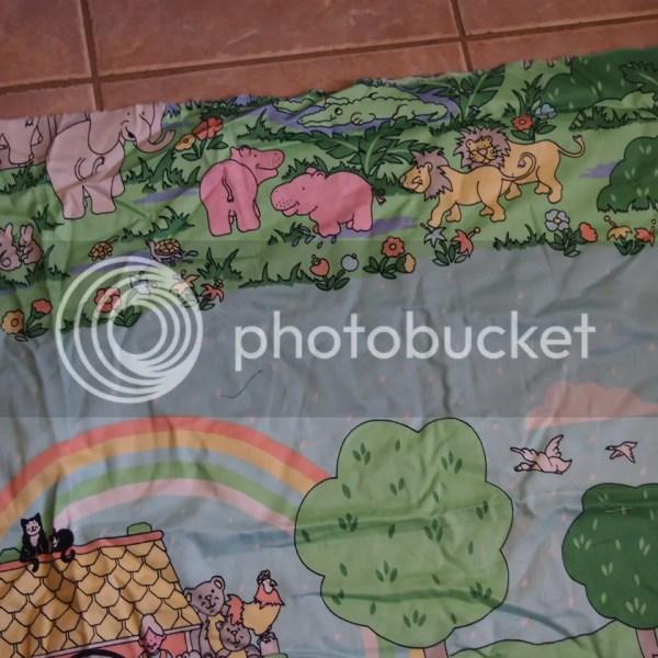 Noah's Ark Cotton Fabric