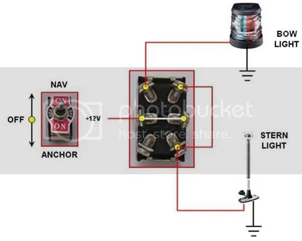 Boat Light Switch Wiring Diagram Boat Circuit Diagrams