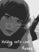 Holding onto cool