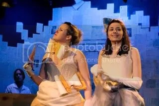 Rebecca Dunna and Ailsa Ilott in Alice's Adventures in the New World