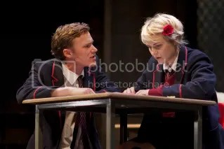 Edward Franklin and Katie West in Punk Rock