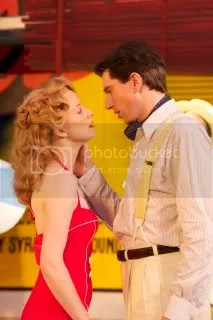 Sophie  Roberts and Daniel Weyman in The Comedy of Errors