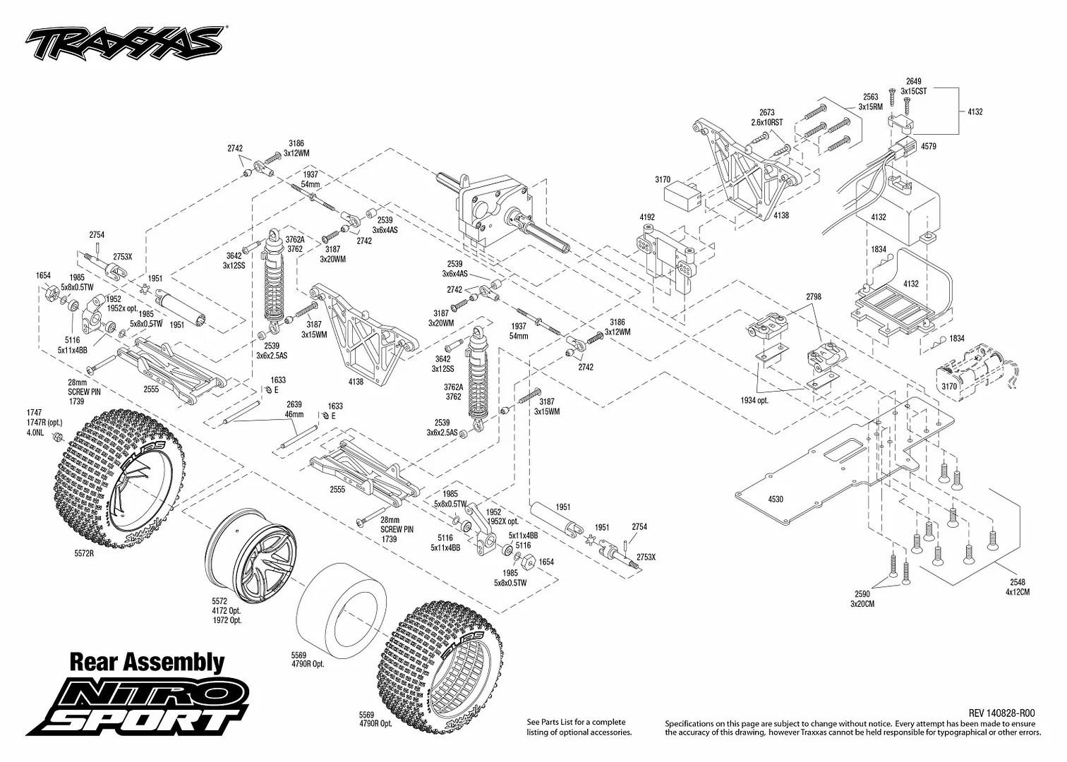 Traxxas 45104-1 1/10 Nitro Sport Tq 2wd Rtr ¡¡envío Gratis