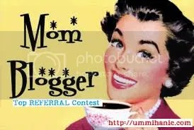 Mom Blogger Top Referral Contest