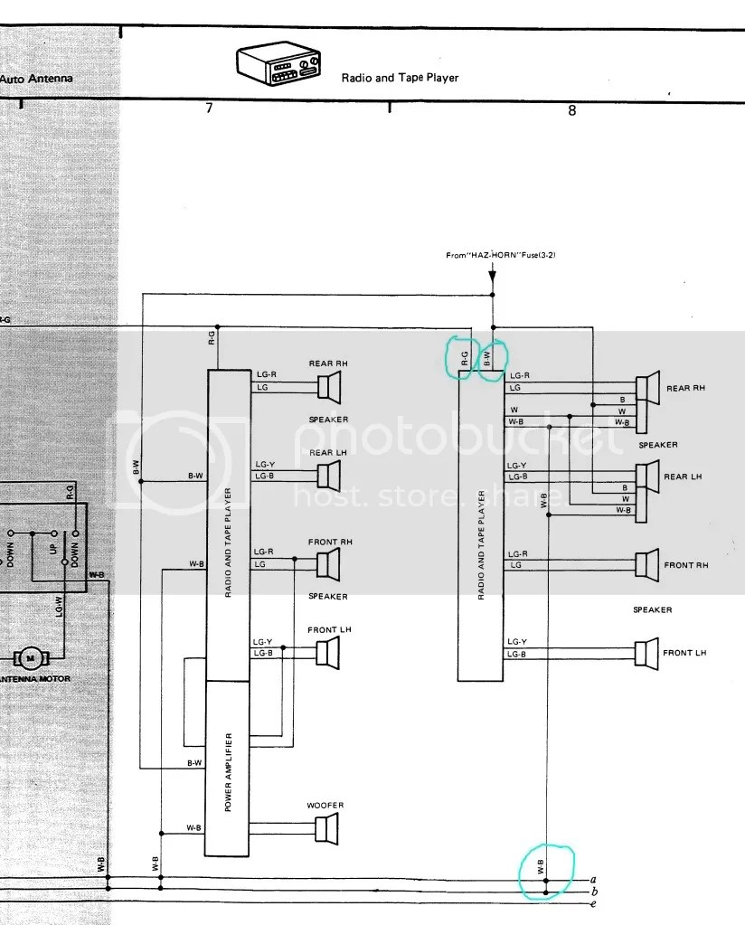 hight resolution of 1995 toyota 4runner radio wiring diagram wiring diagram completed 1995 toyota 4runner wiring harness wiring diagram