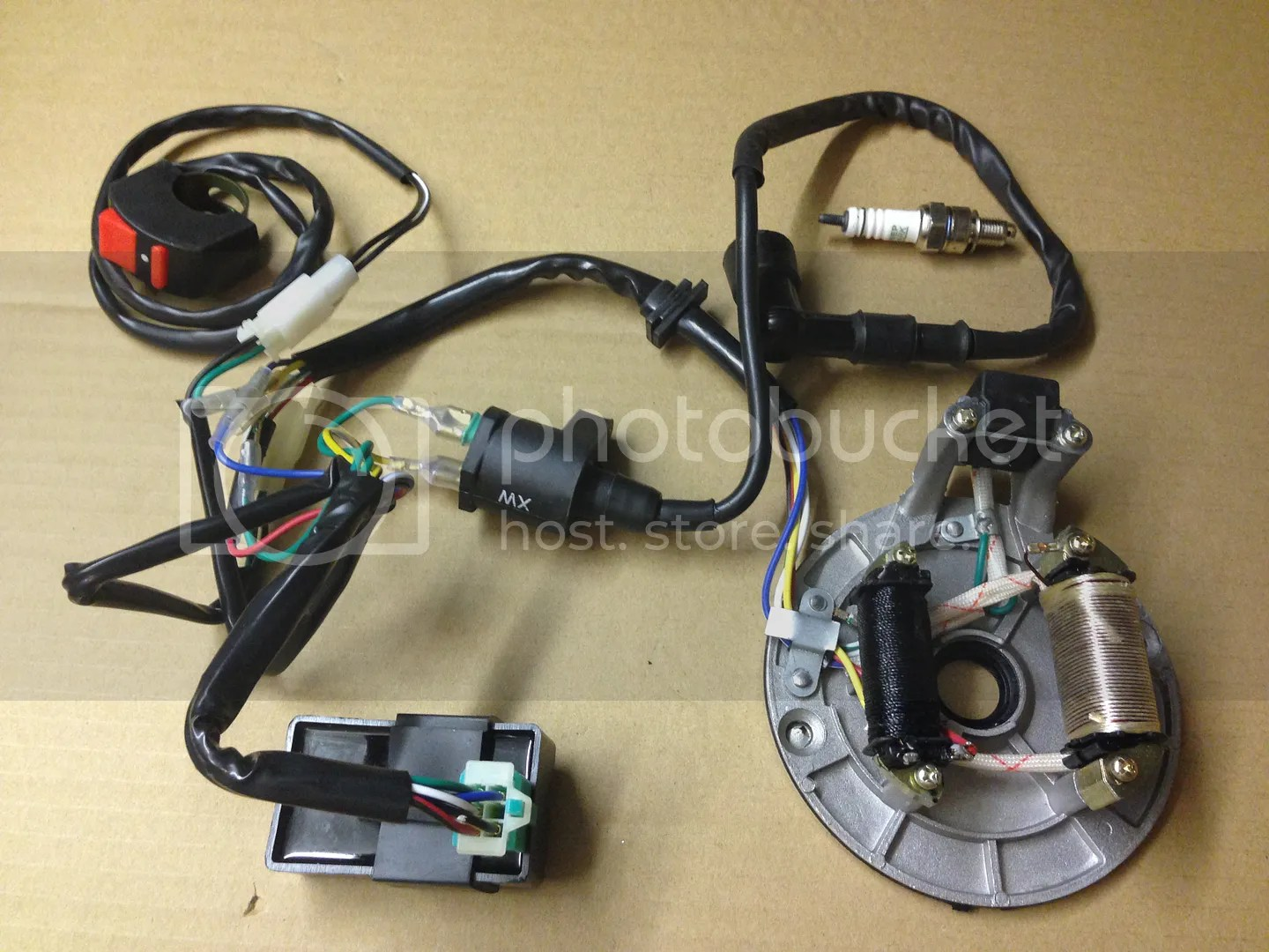 Complete Electrics Kick Start Only 50cc To 125cc Pit Dirt Bikes Stator