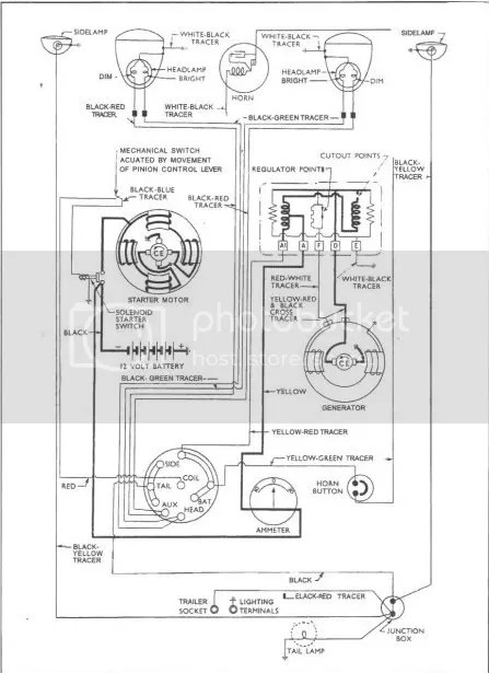 Ford 4000 Tractor Wiring Diagram Main • Wiring Diagram For