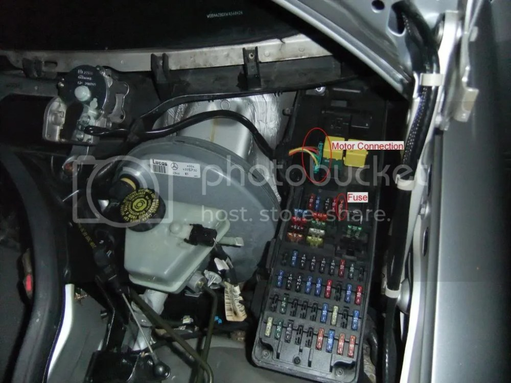 medium resolution of 2003 mercedes ml 500 fuse box location
