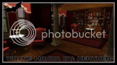 Batman Begins Wayne Manor By: Heather3184 — The Sims Forums