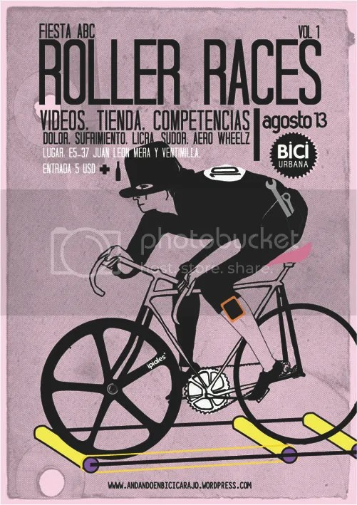poster roller races abc