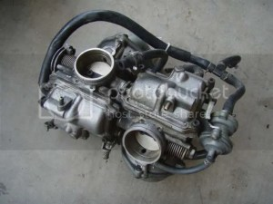 Honda shadow vt1100 vacuum