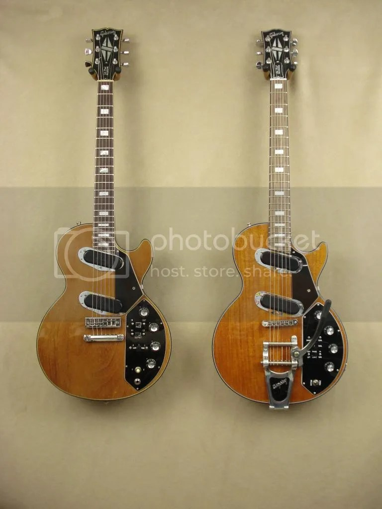 medium resolution of this photo is the 1973 les paul recording the new 2013 les paul recording ii iridium the two are 40 years apart in age