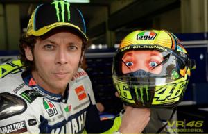 Rossi - novo capacete