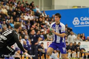 O jovem Miguel Martins foi fundamental para a recuperação portista no segundo tempo