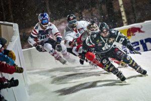 O Ice Cross Downhill é um dos mais espectaculares desportos de inverno da atualidade