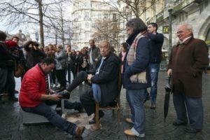 Marcelo Rebelo de Sousa mostra-se ser um Presidente do povo