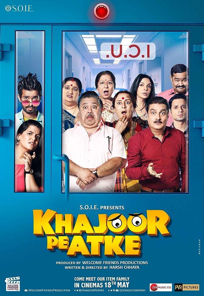 Manoj Pahwa and Vinay Pathak in Khajoor Pe Atke (2018)
