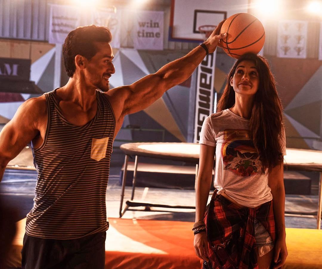 Tiger Shroff and Disha Patani in Baaghi 2 (2018)