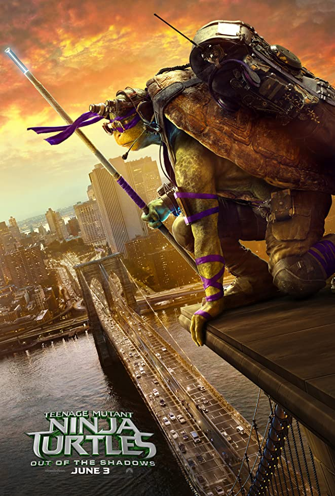 New Teenage Mutant Ninja Turtles: Out of the Shadows Trailer & Poster 7