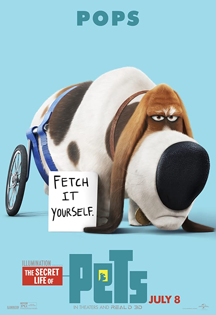 New The Secret Life of Pets Character Posters Celebrates National Pet Day 7