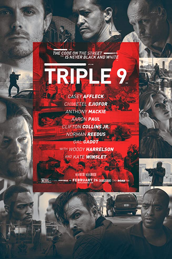 New Triple 9 Trailer Featuring Anthony Mackie, Norman Reedus & Kate Winslet 1