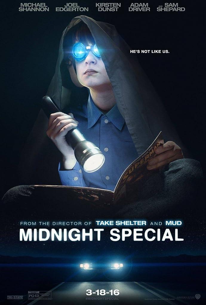 New Midnight Special Trailer Featuring Michael Shannon, Joel Edgerton, Kirsten Dunst, Adam Driver 1