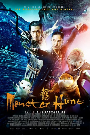 Monster Hunt 2015 Dual Audio Hindi 350MB BluRay 480p x264