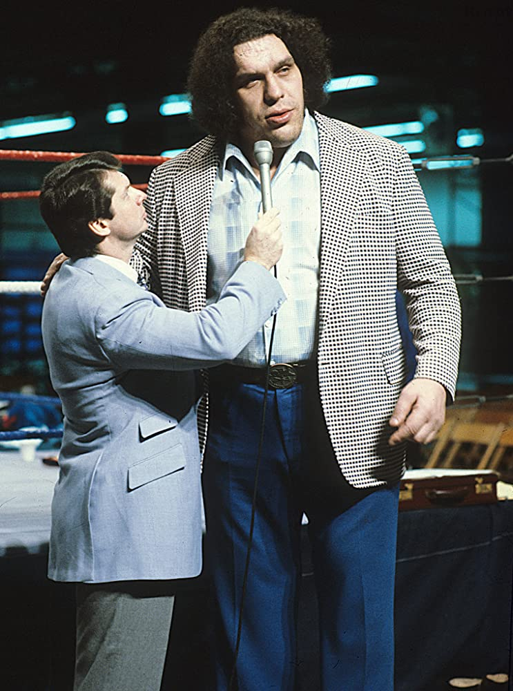 André the Giant and Vince McMahon in Andre the Giant (2018)