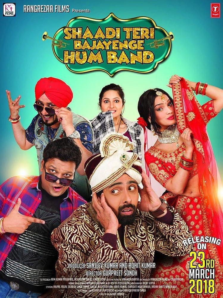 Rahul Bagga, Dilbagh Singh, Afreen Alvi, Rohit Kumar, and Radha Bhatt in Shaadi Teri Bajayenge Hum Band (2018)