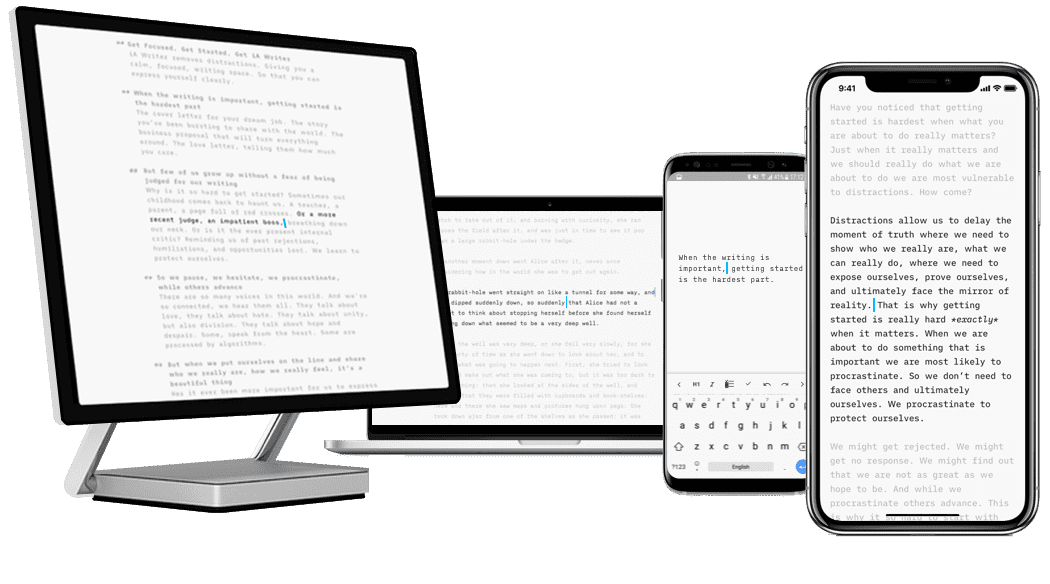 iA Writer: The Focused Writing App for Mac, Windows