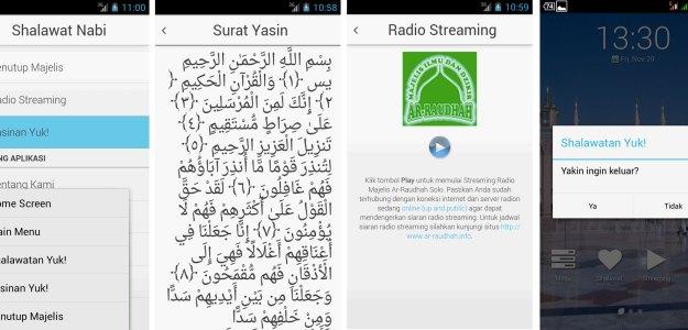 Fitur Tambahan Surat Yasin dan Radio Streaming Online