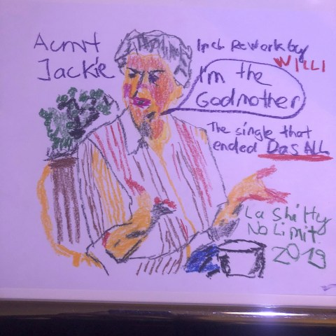 Aunt Jackie – I'm The Godmother