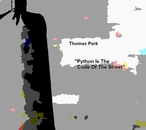 Thomas Park – Python Is The Code Of The Street (LP)