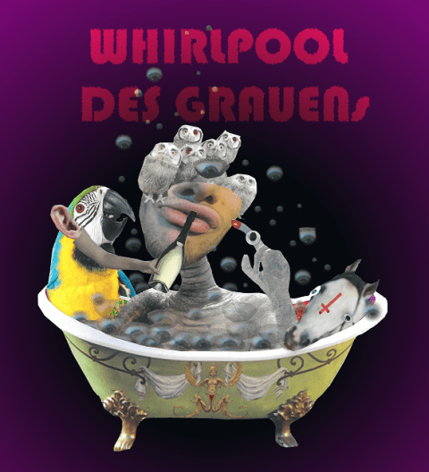 tipsy pudel – Whirlpool des Grauens