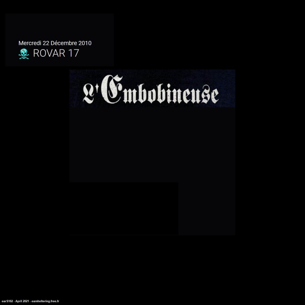 Rovar17 – L'Embobineuse