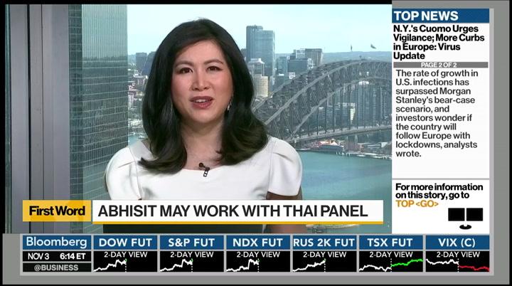 Bloomberg Daybreak: Asia : BLOOMBERG : November 3. 2020 6:00pm-7:00pm EST : Free Borrow & Streaming : Internet Archive
