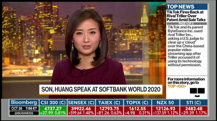 Bloomberg Daybreak: Asia : BLOOMBERG : October 28. 2020 7:00pm-9:00pm EDT : Free Borrow & Streaming : Internet Archive