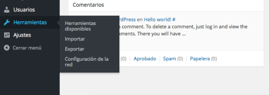 Paso 2 instalación wordpress multisite