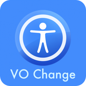 Image showing the app icon for VO Change