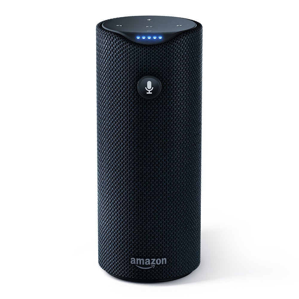 Image of Amazon Tap on white background