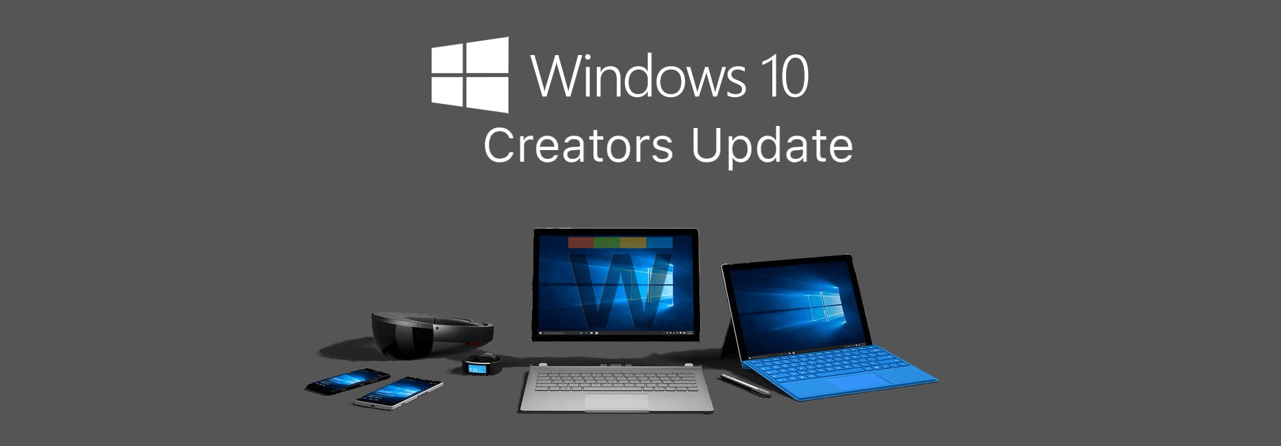 Windows 10 Creators Update supported Devices