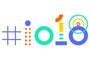 Google iO 2018 image with hashtag
