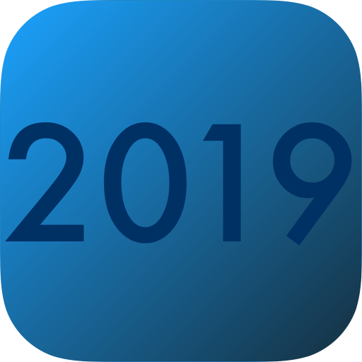 iAccessibility Logo with year 2019 instead of iA