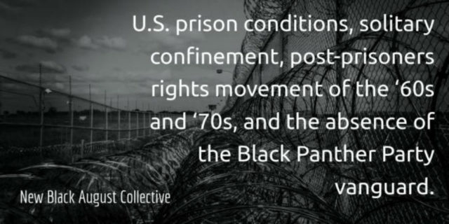 After the Black Panthers: moving forward