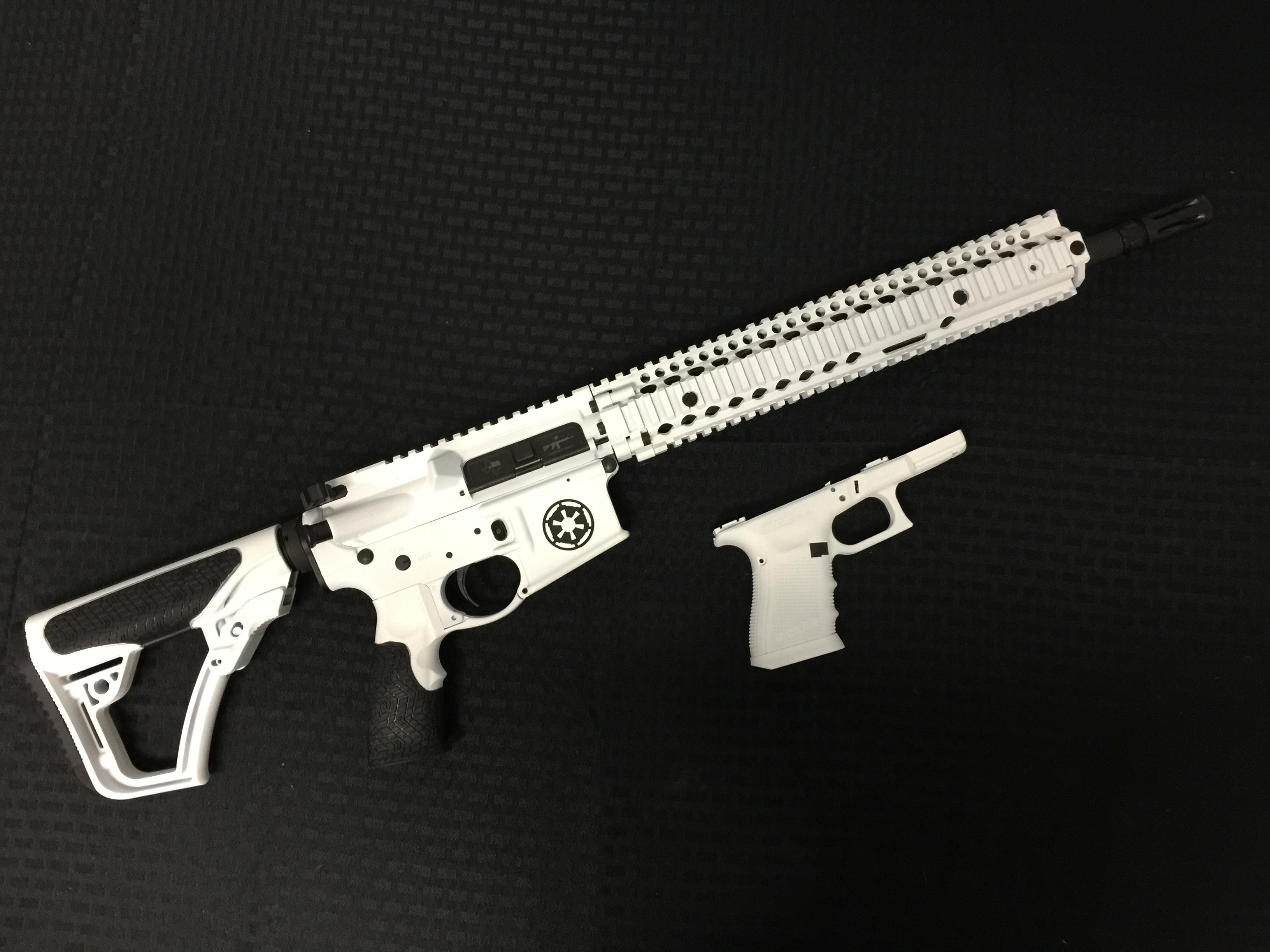 Star Wars Storm Trooper Ar 15 Ia Coatings Performance