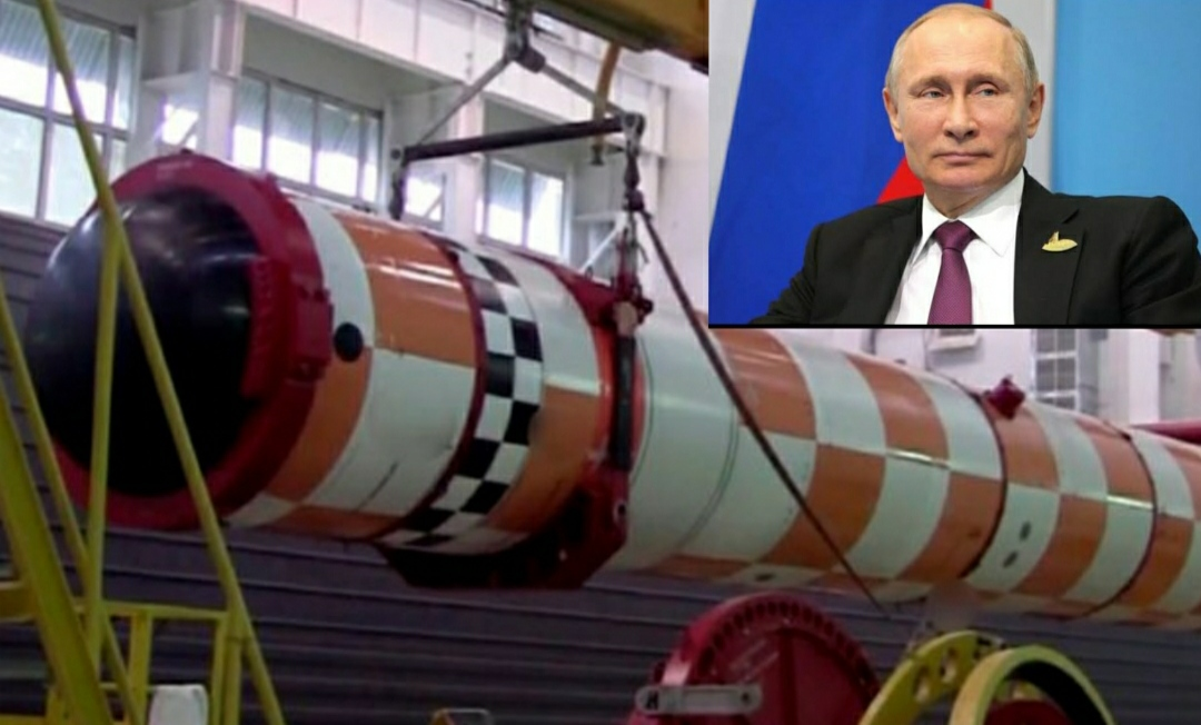 The Russian atomic giant: the game of military drills and Russia's new super weapon