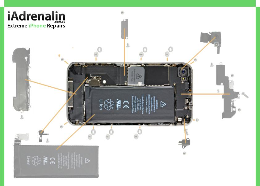 iphone 4 screw layout diagram eaton lighting contactor wiring chart iadrenalin download charts