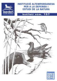 Butlletí 157 Hivern 2015-2016