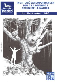 portada butlletí IAEDEN-Salvem hivern 2016-2017 número 160