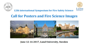Call for posters IAFSS2017 banner